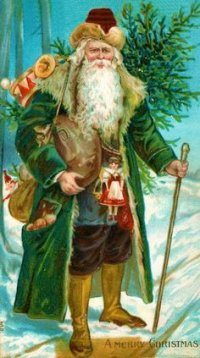 Santa the Old Man of the Woods