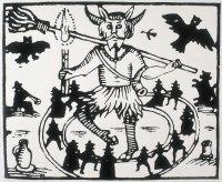 Robin Goodfellow has obvious shamanic influences